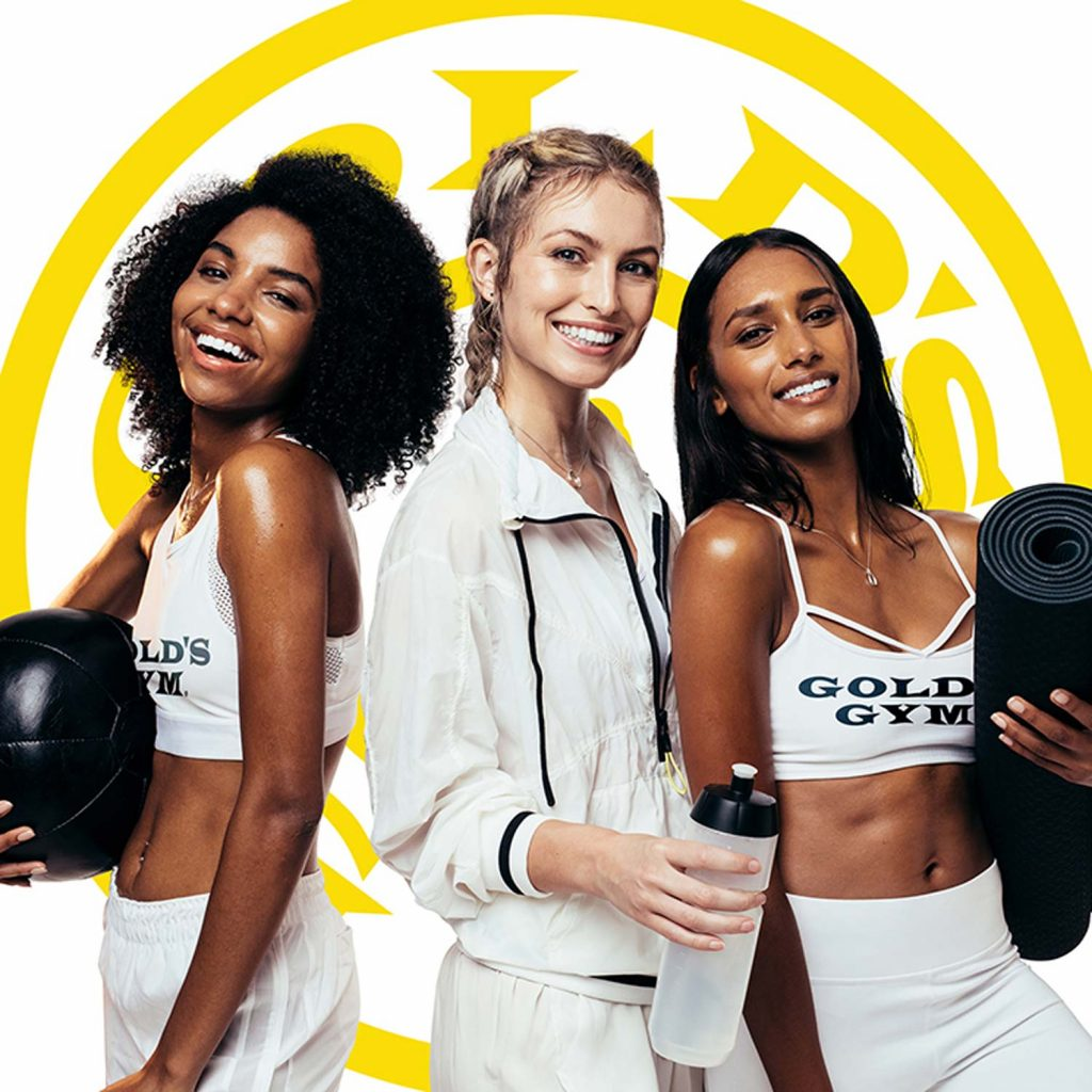 Image of Female Friends Ready to Workout at Gold's Gym
