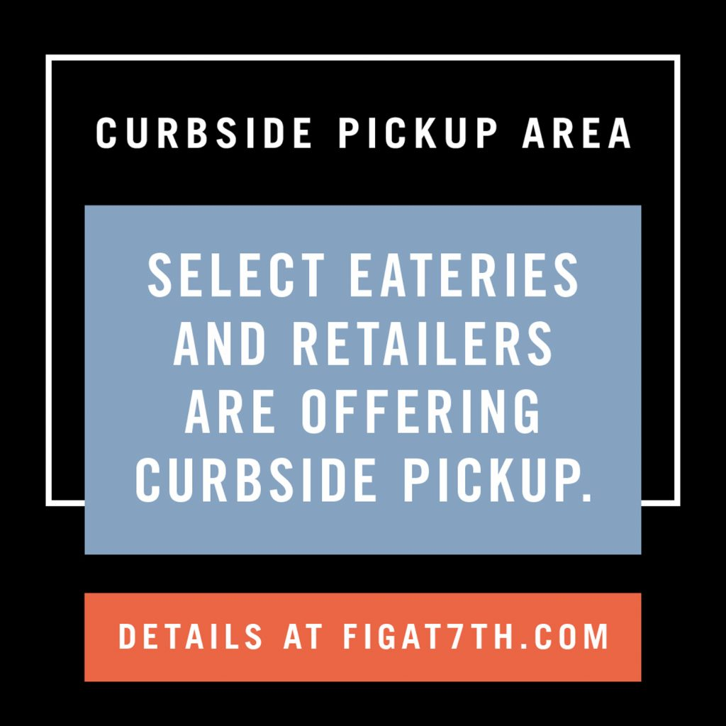 Graphic with Curbside Pickup Info