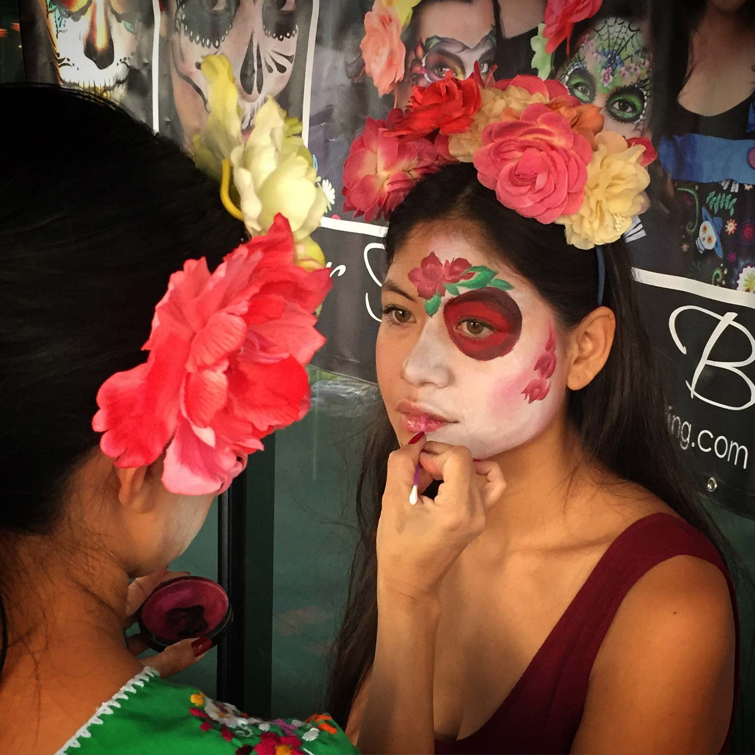 Image of Day of the Dead Face Painting