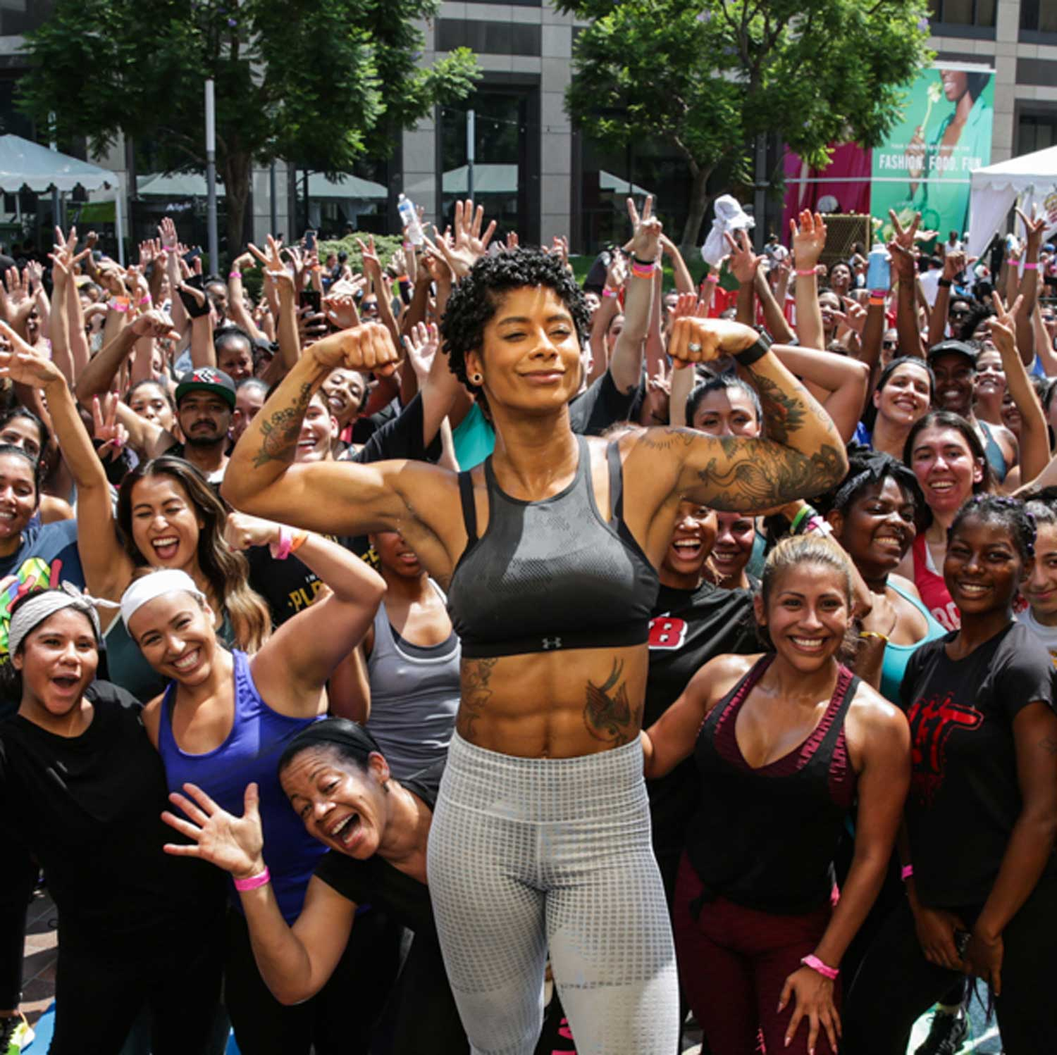 Image of Massy Arias at Fitness Event