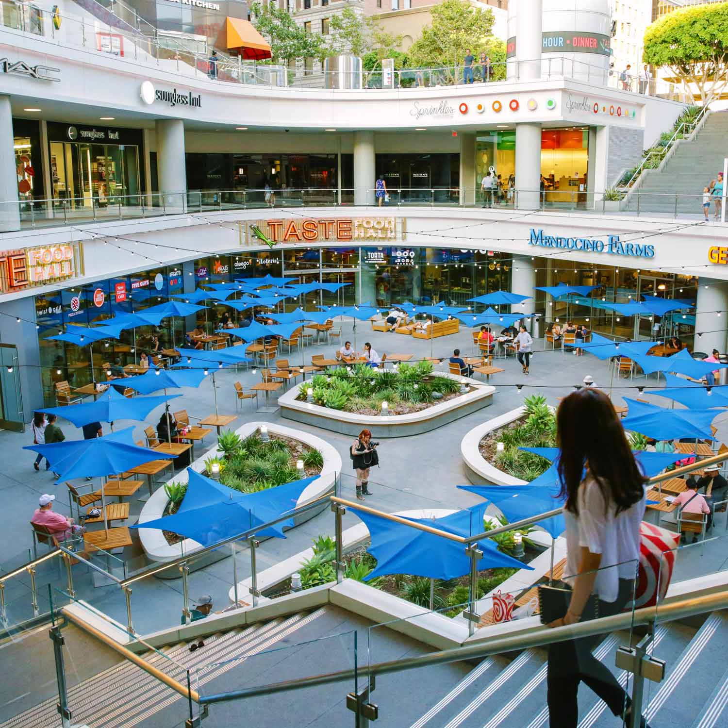 Image of TASTE Food Hall Courtyard