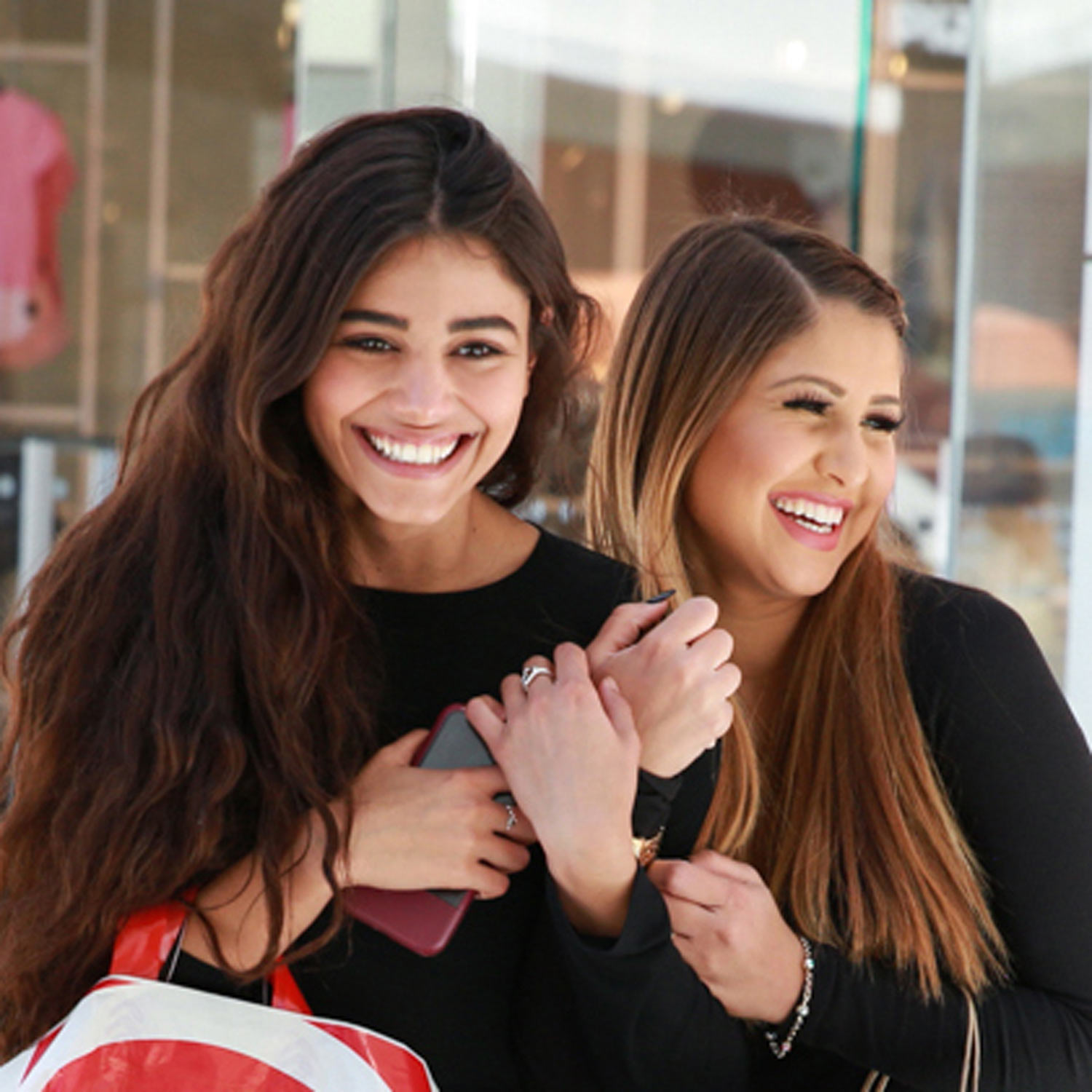 Image of Happy Women Shopping